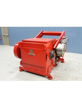 EF-36-60 Slow Speed Wood Waste Grinder with Infeed Conveyor and Electro-magnet