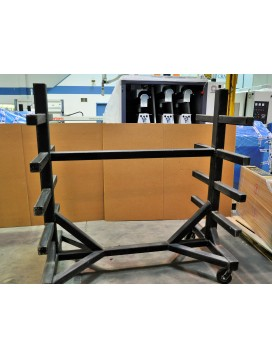 Heavy duty Mobile Steel Rack