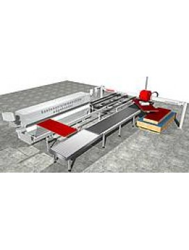 Automated Vacuum Edgebander Return Conveyor System