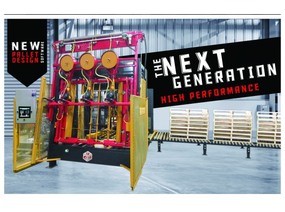 Bol-200 Automated Nailer & Pallet Stacker Assembly System