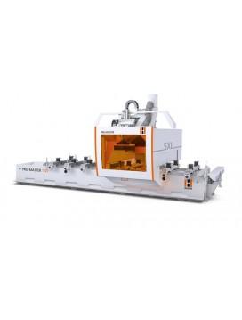 PRO-MASTER : 5-axes CNC machining center