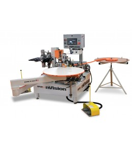 nVision Semi-Automatic Contour Edgebander