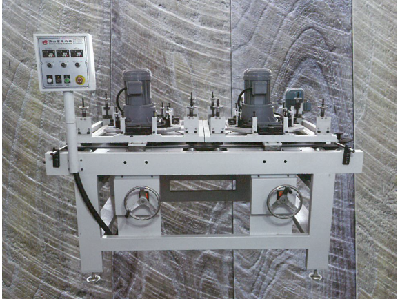 Curved Line Saw Mark Distressing Machine