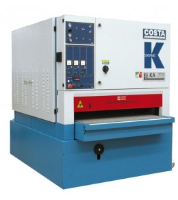 K series calibrating+sanding machine