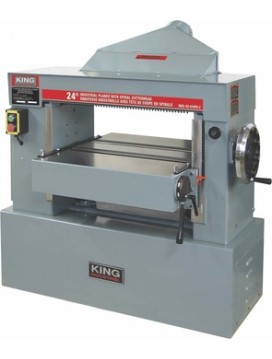 "KC-630FX 24"" INDUSTRIAL PLANER WITH SPIRAL CUTTERHEAD"